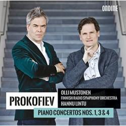 Prokofiev - Piano Concertos 1, 3 & 4 - Mustonen - Lintu