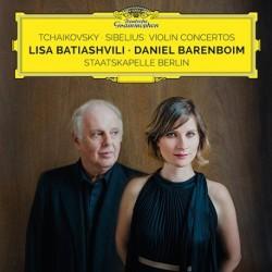 Tchaikovsky - Sibelius - Violin Concertos - Batiashvili - Barenboim