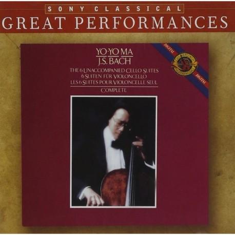 Bach J. S. - Cello Suites - Yo-Yo Ma