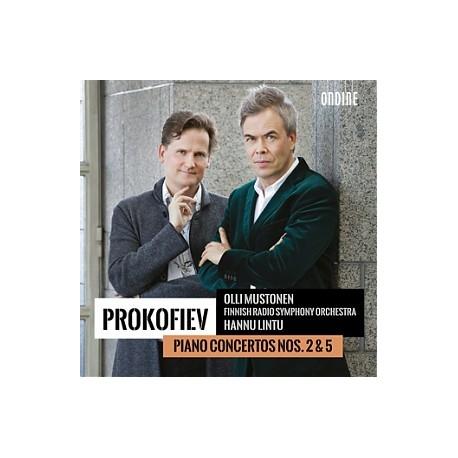 Prokofiev - Piano Concertos 2 & 5 - Mustonen - Lintu