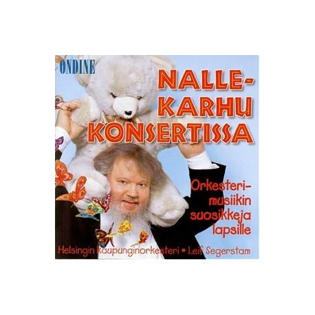Nallekarhu konsertissa - Orkesterimusiikin suosikkeja lapsille