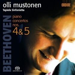Beethoven - Piano Concertos No. 4 & 5 - Mustonen