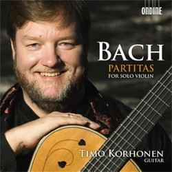 Bach J.S. - Partitas for solo violin - Korhonen