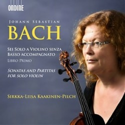 Bach JS - Sonatas and Partitas for solo violin - Kaakinen