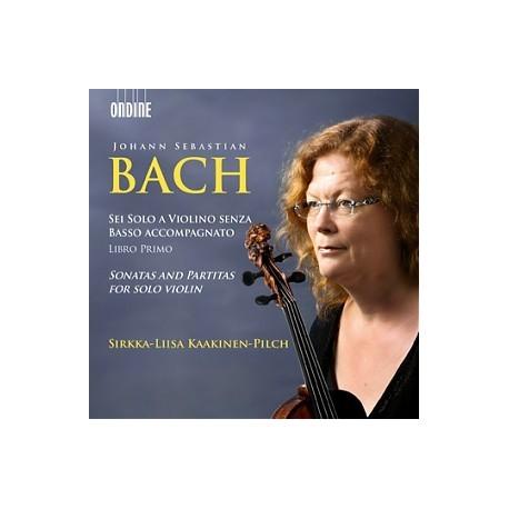 Bach JS - Sonatas and Partitas for solo violin - Kaakinen