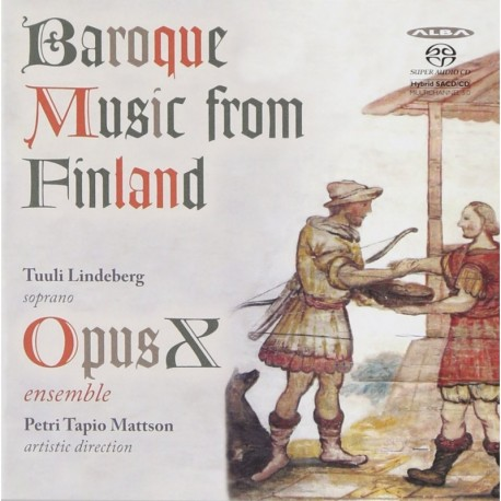 Opus X Ensemble - Baroque Music from Finland
